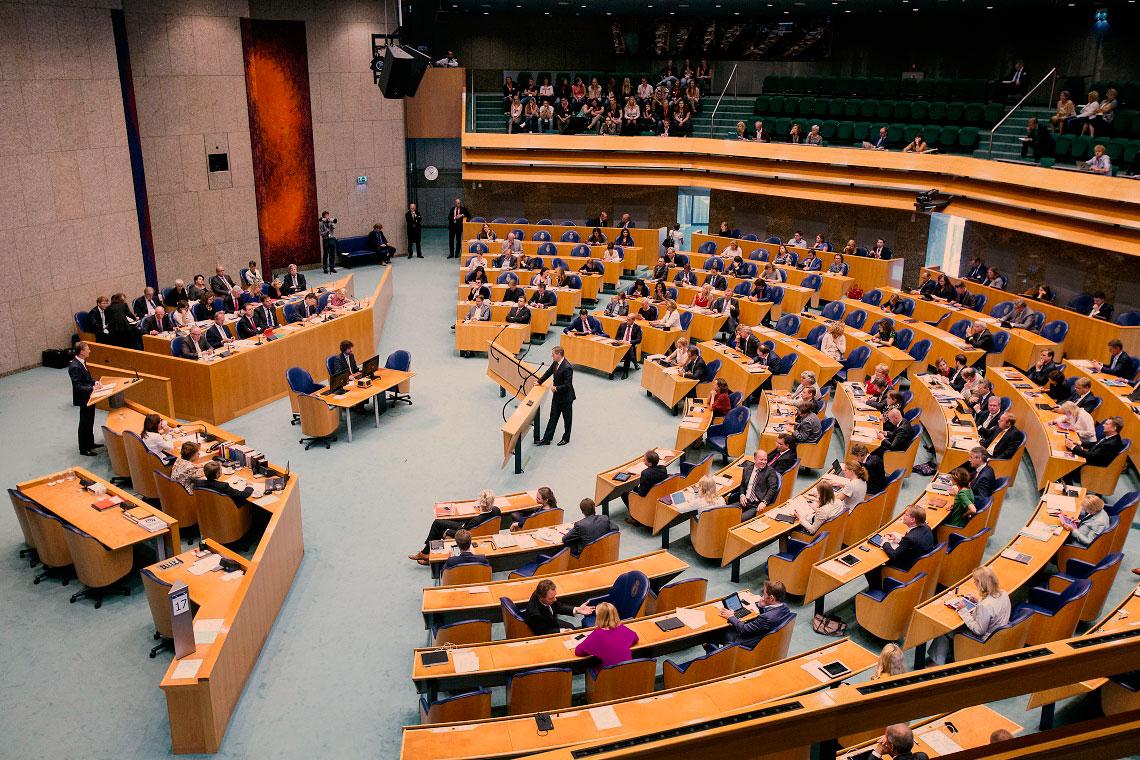 Het goddelijk oordeel betreffende zitting nemen in het parlement de oemma - Kamer van water m ...